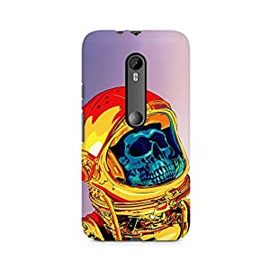 Mobicture Skull Premium Printed Case For Moto X Play
