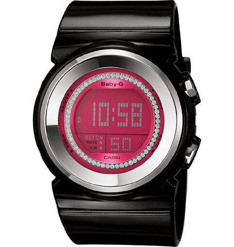 Casio BGD-102-1ER BABY-G ladies digital resin strap watch