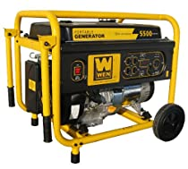 Big Sale WEN 56551 5500-Watt 389cc 13-HP OHV Gas-Powered Portable Generator with Wheel Kit