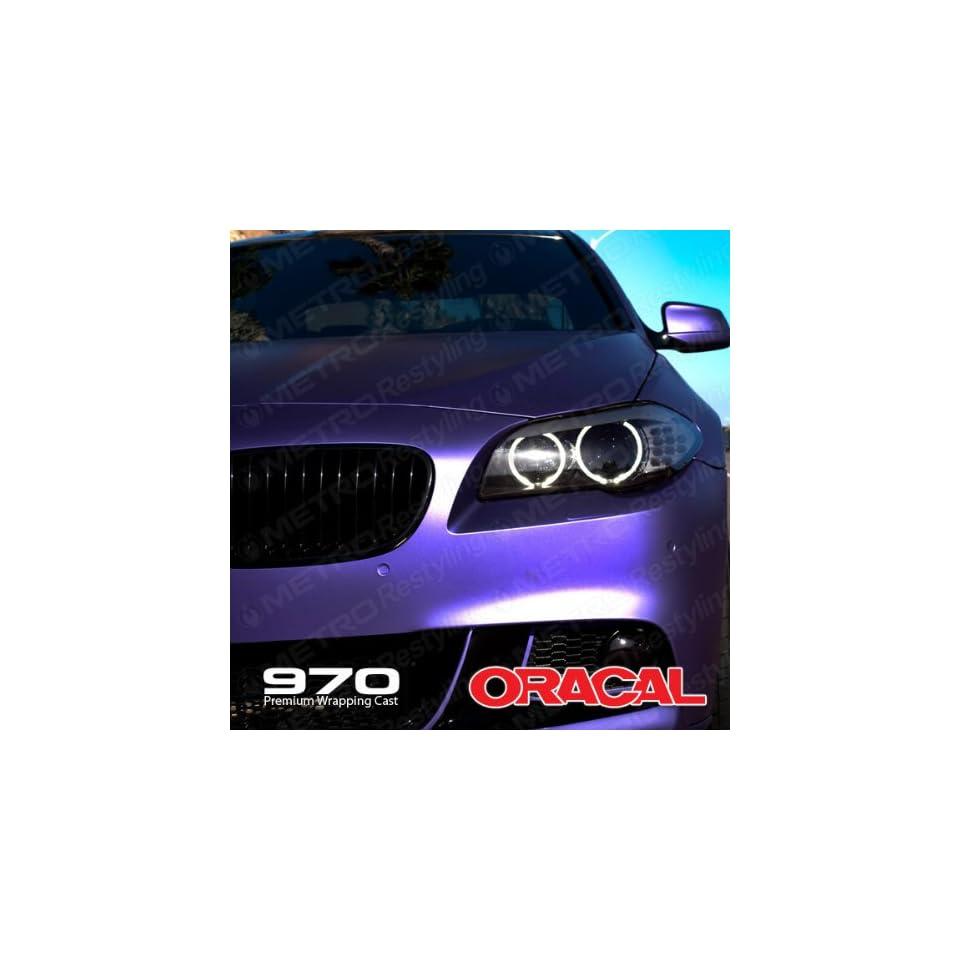 ORACAL 970RA 406 MATTE VIOLET Purple Wrapping Cast Vinyl Car Wrap Film 5ft x 10ft (50 Sq/ft)