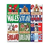 Terry Deary Horrible Histories Special Collection 6 Books Set, (Ireland, England, Scotland, Wales, France, USA)
