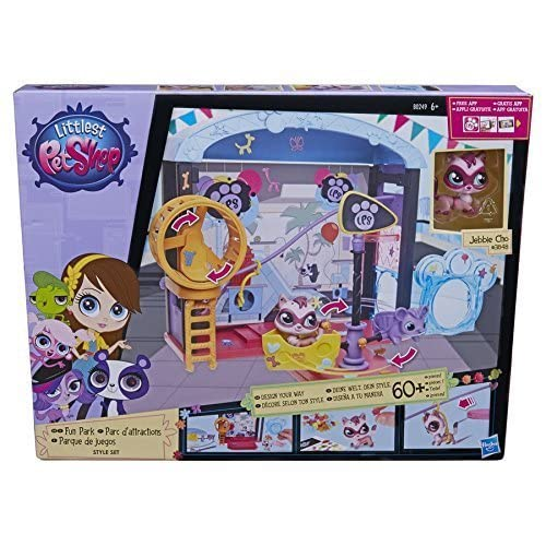 Hasbro Littlest Pet Shop Fun Park Style Set by ToyMarket