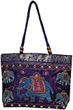 Craftshraft Women's Shoulder Bag (Purple)
