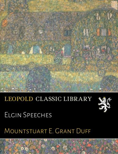 Elgin Speeches