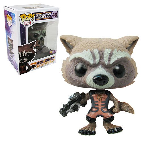 GotG Rocket Raccoon Ravagers Pop! Vinyl Bobble Figure (48) - EXCLUSIVE
