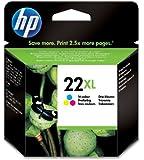 HP 22XL - Tri-color Inkjet Print Cartridge (C9352CE)