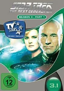 Star Trek - Next Generation - Season 3.1 (3 DVDs) [Import allemand]