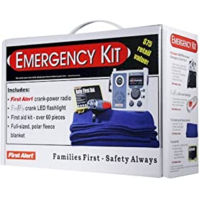 First Alert Emergency Preparedness Kit