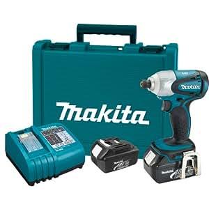 Makita BTD141 LXT Lithium-Ion Cordless Impact Driver Kit, 18-Volt