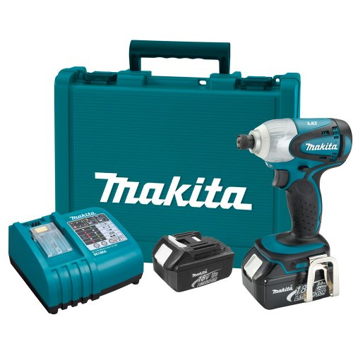 Makita BTD141 18-Volt LXT Lithium-Ion Cordless Impact Driver Kit