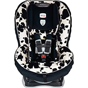 britax car seat with the cowmooflage