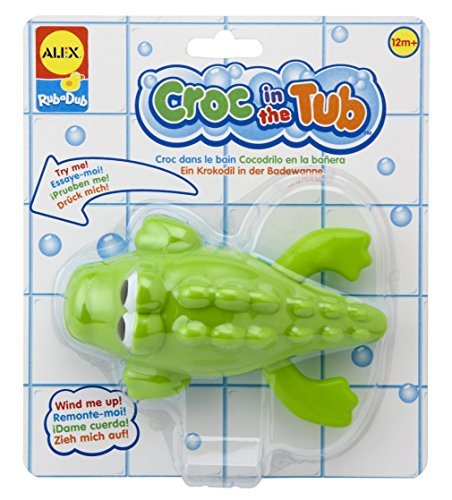 ALEX Toys Rub a Dub Croc in the Tub