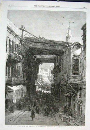 copie-1867-de-londres-de-mail-de-cercueil-du-caire-hildebrandt-de-rue