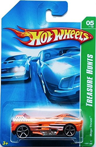 2007 Hot Wheels Treasure Hunt 5/12 - Mega Thrust