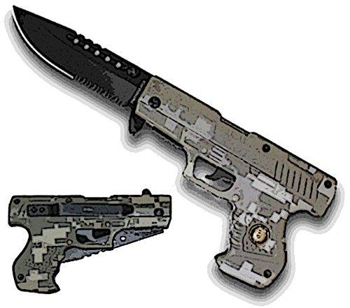 New Ao Camo Pistol Handle Knife