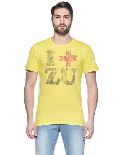 Zu Elements T-Shirt Manica Corta [Giallo Fluo]