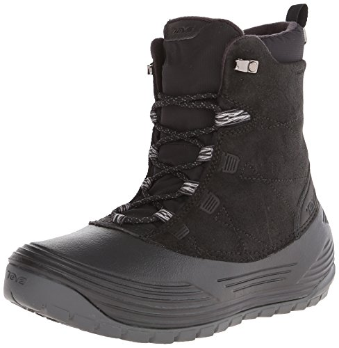 Teva Highline WP, Stivali da neve, con caldo rivestimento interno Uomo, Nero (Schwarz (black 513)), 40,5 (7 uk)