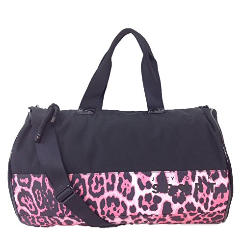 Juicy Couture Juicy Sport Duffle Gym Bag, Black / Pink Leopard (Juicy Couture Side Bag compare prices)
