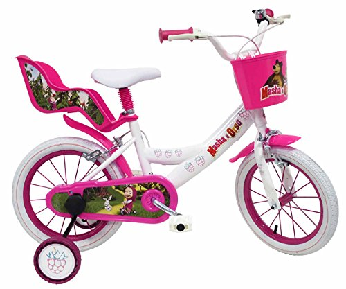 Denver 15139 - Masha And Bears Bicicletta, 14 Pollici