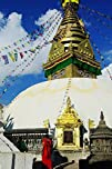Walking around Nepal – Swayambhunath…