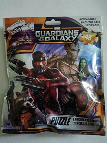 Guardians of the Galaxy Puzzle on the Go Resealable Bag for Easy Storge