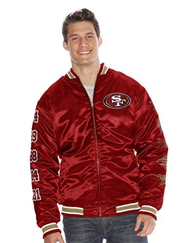 san-francisco-49ers-nfl-g-iii-fly-super-bowl-commemorative-satin-jacket