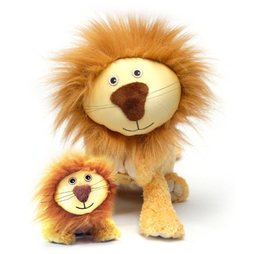 Imagen de Zoobies juguete de felpa, Lencho El león con el Mini