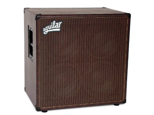 Aguilar DB 410 Bass Cabinet, 4 Ohm, Chocolate Thunder