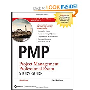 PMP Project Management Professional Exam Study Guide, Includes Audio CD Kim Heldman