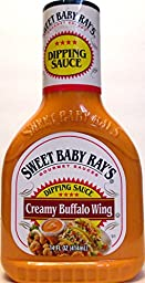 Sweet Baby Ray\'s Creamy Buffalo Wing Dipping Sauce (Pack of 2) 14 oz Bottles