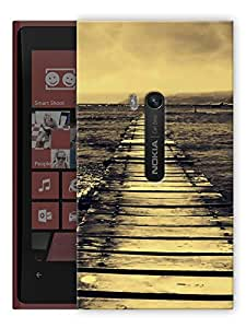 "Humor Gang Lonely Tracks Printed Designer Mobile Back Cover For ""Nokia Lumia 920"" (3D, Matte, Premium Quality Snap On Case)"