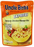 UNCLE BEN'S Express Savoury Chicken Rice 250 g (Pack of 6)