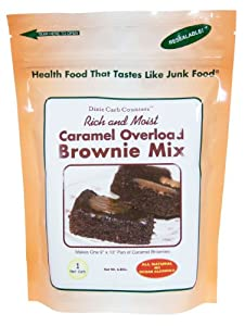 Dixie Carb Counters Brownie Mix Select Caramel Pecan Turtle by Dixie Carb Counters