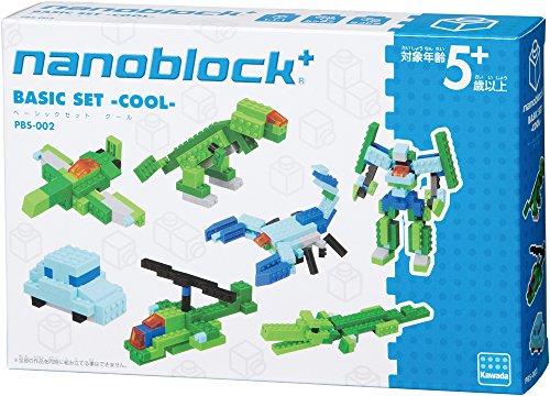 ナノブロックプラス ベーシックセット クール PBS-002 - 1