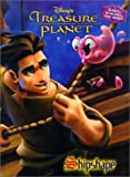 img - for Treasure Planet Shipshape (Super Coloring Book) by RH Disney (2002-10-15) book / textbook / text book