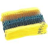 1 ohm - 10M ohm 1/4W Metal Film Resistors Assortment Kit Set 64 Values Total 1280pcs
