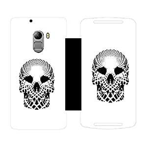 Skintice Designer Flip Cover with hi-res printed Vinyl sticker wrap-around for Lenovo K4 Note