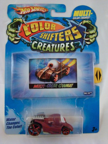 Hot Wheels Color Shifters Creatures 1:64 Car: Evil Eye (Color Change Hotwheels Cars compare prices)