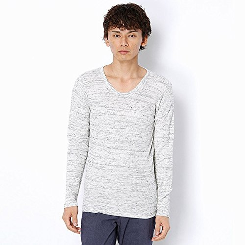 MKオム(MK homme) Tシャツ(ロイヤルメランジワッフルTシャツ)【ライトグレー/48(L)】