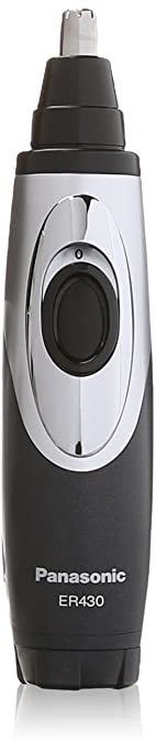 Panasonic Ear & Nose Trimmer with Vacuum Cleaning System, Men's, Wet/Dry Convenience, ER430K