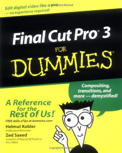 Final Cut Pro3 For Dummies