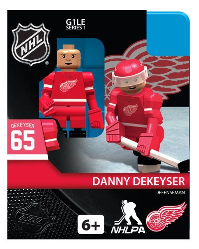 NHL Detroit Red Wings Danny Dekeyser OYO Mini Figure - 1