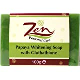 Zen Personal Care's Papaya Whitening Soap Gluthathione x 2 Bars 100gmsby Zen Personal Care
