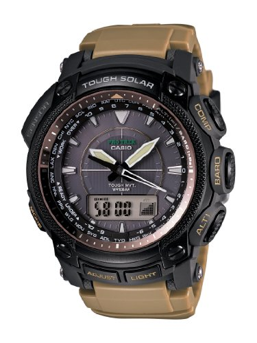 Casio Men's PRW5050BN-5 ProTrek Multi-Function Atomic Timekeeping Watch