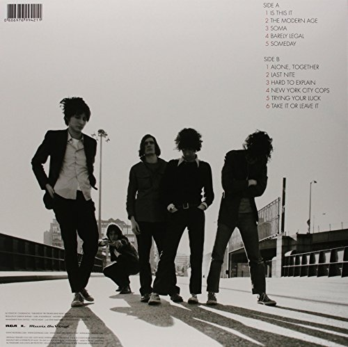 Original album cover of Is This It by STROKES