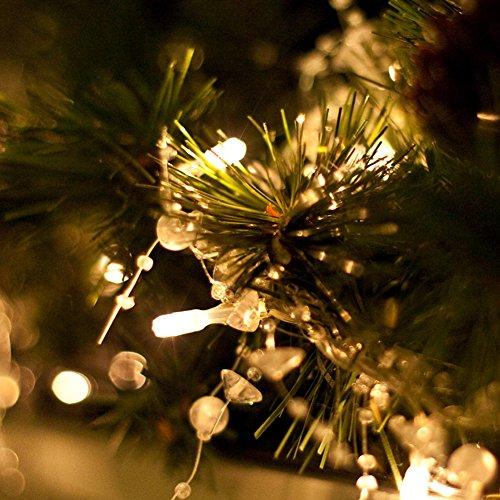 200er led lichterkette mit fernbedienung timer 8 modi - Led lichterkette bunt mit fernbedienung ...