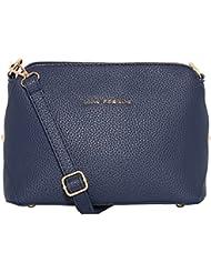 Lino Perros Women's Handbag (Blue) - B01IVGK0UO