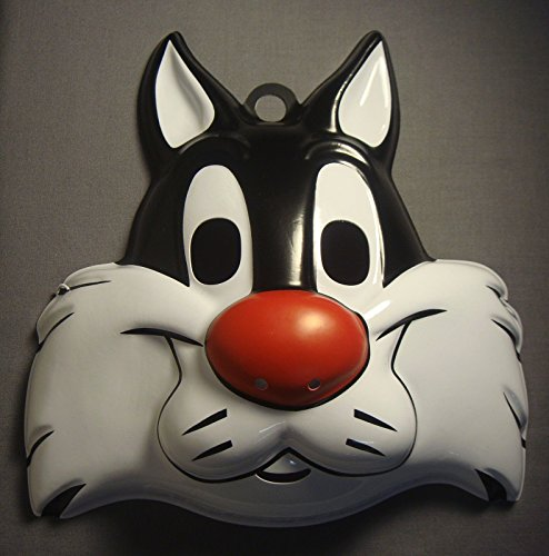 [LOONEY TUNES SYLVESTER THE CAT HALLOWEEN MASK PVC] (Infant Sylvester Costumes)