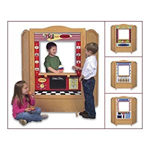 Guidecraft 4 in 1 Dramatic Play Theater from Guidecraft