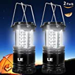 LE� Pack of 2 Units Portable LED Camp...